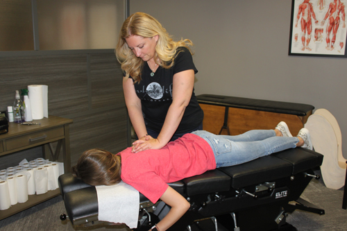 Back Adjustment Dr Nicole