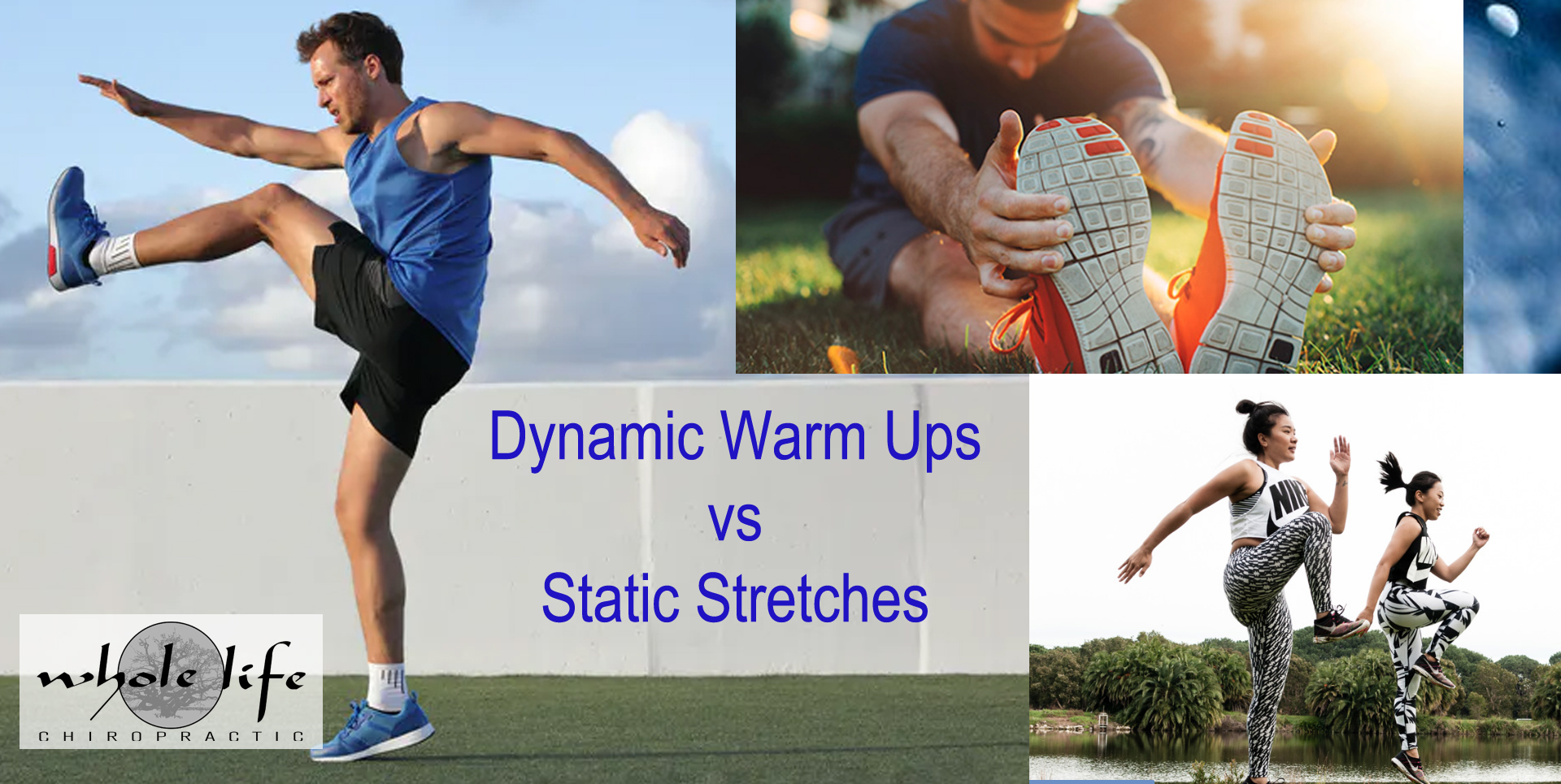 September Newsletter Dynamic Warm up vs Stretcching